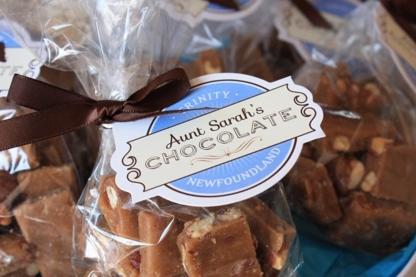 Aunt Sarah's Chocolate Shop - Restaurants - 709-436-2015