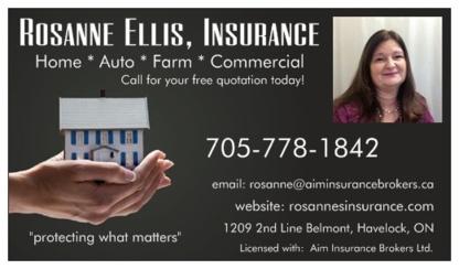 Rosanne Ellis - Insurance - Insurance Agents & Brokers - 705-778-1842