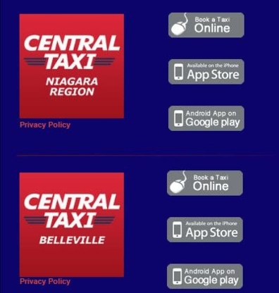 Central Taxi - Taxis - 905-685-7343
