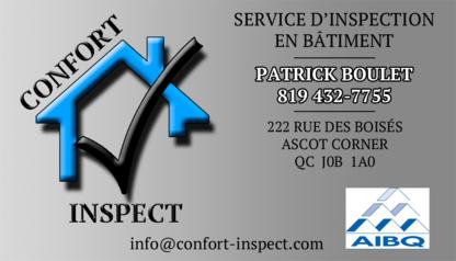 Confort Inspect - Inspecteurs en bâtiment et construction