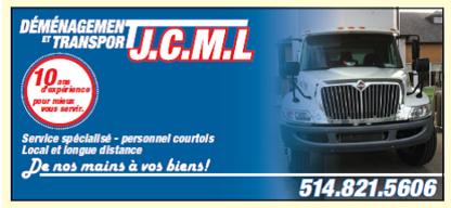 Déménagement et Transport J.C.M.L - Moving Services & Storage Facilities - 514-821-5606