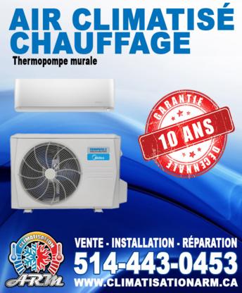 Voir le profil de Climatisation ARM Inc - Saint-Lin-Laurentides