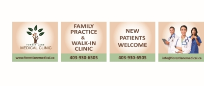 Forest Lane Medical Clinic - Cliniques médicales - 403-930-6505