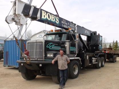 Bob's Pile Driving & Crane Service - Entrepreneurs en fondation sur pieux