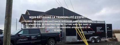 Gabriel Mathieu Construction Inc - Home Improvements & Renovations