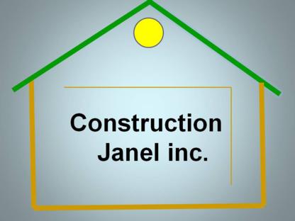 Construction Janel Inc - Entrepreneurs généraux - 450-227-6749