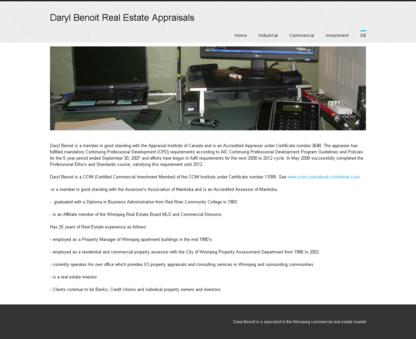 Daryl Benoit Real Estate Appraisals - Courtiers immobiliers et agences immobilières