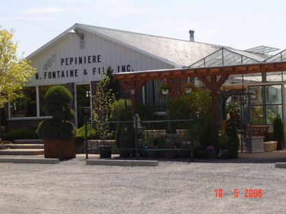 Pépinière Fontaine & Fils Inc - Centres du jardin - 450-469-3898