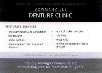 Bowmanville Denture Clinic - Teeth Whitening Services