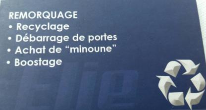 Remorquage Élie - Remorquage de véhicules - 514-617-7905