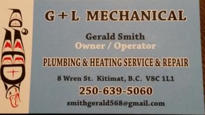 G&L Mechanical - General Contractors - 250-639-5060