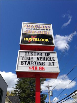 All Glass & Accessories - Finition spéciale et accessoires d'autos