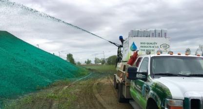Jade Blade Contracting Inc. - Hydroseeding - 780-490-9014