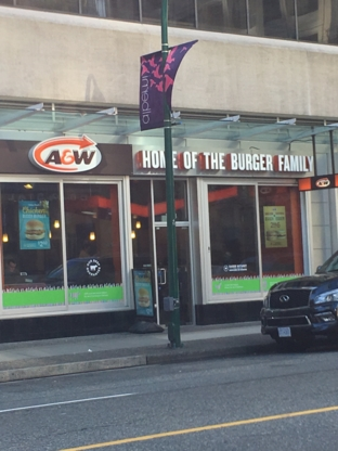 A&W - Fast Food Restaurants - 604-569-3406