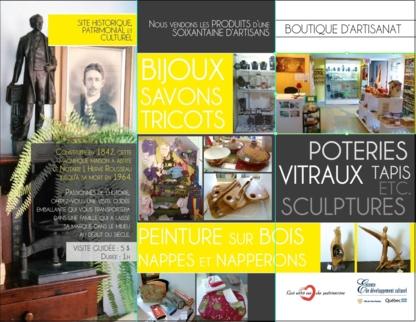 Les Amis de l'Art-Maison du Notaire - Conseillers, marchands et galeries d'art - 418-851-1656