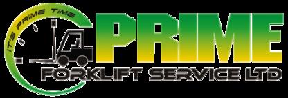 Prime Forklift Services Ltd - Fork Lift Trucks