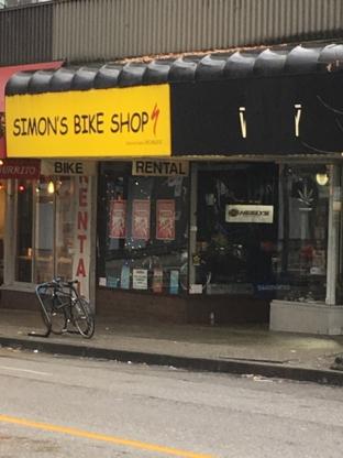 Simon's Bike Shop - Location de vélos