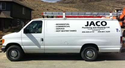 Jaco Plumbing & Heating Ltd - Plumbers & Plumbing Contractors - 250-320-6172