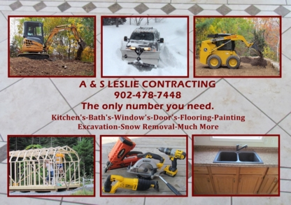 A&S Leslie Contracting - Rénovations - 902-478-7448