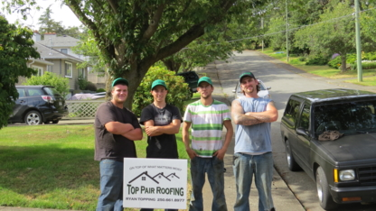 Top Pair Roofing - Roofers - 250-661-8977