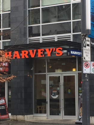 Harvey's - American Restaurants - 604-682-3929