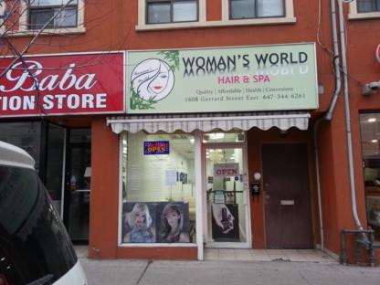 Woman's World Hair & Spa - Estheticians