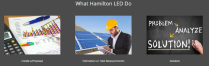 Hamilton LED - Lighting Consultants & Contractors