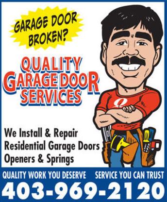 Quality Garage Door Services - Garage Door Openers