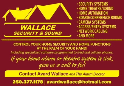 Wallace Security & Sound Inc - Security Control Systems & Equipment