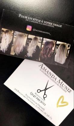 Amanda Muniz-Coloriste-Coiffeuse-Styliste - Estheticians - 514-299-5022