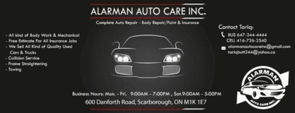 Al Arman Auto Care - Auto Repair Garages - 647-344-4444