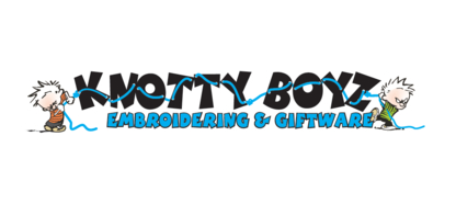 Knotty Boyz Embroidering & Giftware Ltd - Promotional Products - 780-724-4413