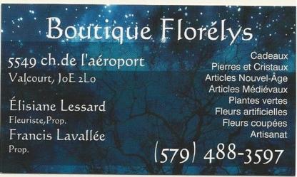 Boutique Florélys - Florists & Flower Shops - 579-488-3597