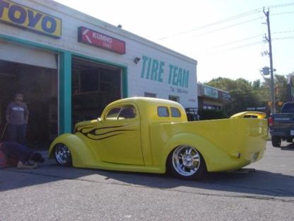 Tire Team Centres - Tire Retailers - 519-886-4444