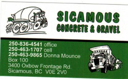 Sicamous Concrete & Gravel - Sand & Gravel