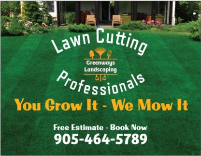Greenways Landscaping - Landscape Contractors & Designers - 905-464-5789