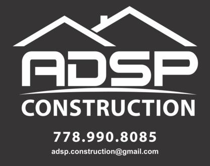 ADSP Construction - Construction Management Consultants - 778-990-8085
