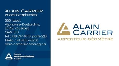 View Alain Carrier Arpenteur Géometre's Saint-Jean-Chrysostome profile