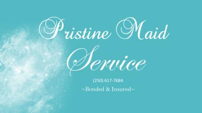 Pristine Maid Service - Maid & Butler Service - 250-617-7684