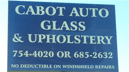 Cabot Auto Glass & Upholstery - Firewood Suppliers