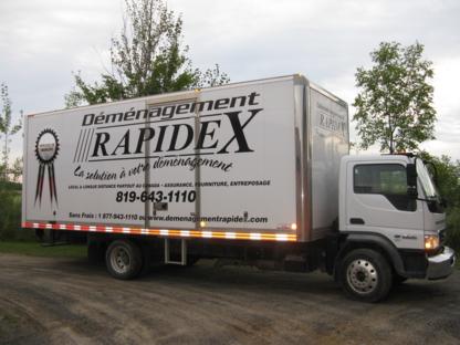 Déménagement Rapidex - Moving Services & Storage Facilities - 819-643-1110
