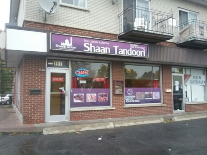 Restaurant Shaan Tandoori - Indian Restaurants - 450-678-9322
