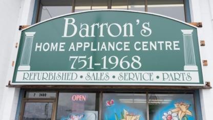 Barron's Home Appliance - Major Appliance Stores - 250-752-9191