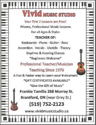 View Vivid Music Studio's Paris profile