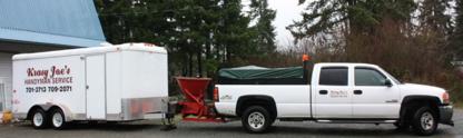 Krasy Joe's Handyman Service - Parking Area Maintenance & Marking