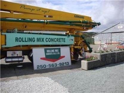 Rolling Mix Concrete (B C) Ltd - Ready-Mixed Concrete