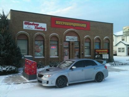 Max Power Speed Shop - Window Tinting & Coating