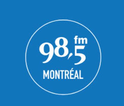 98,5 FM - Stations de radios et sociétés de diffusion - 514-789-0985