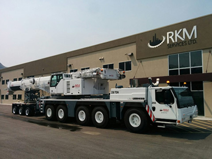 RKM Crane Services - Crane Rental & Service - 250-377-3560