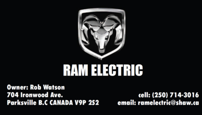 Ram Electric - Electricians & Electrical Contractors